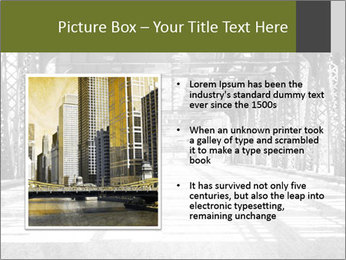 Old Chicago Bridge PowerPoint Template - Slide 13