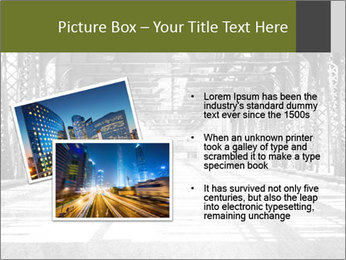 Old Chicago Bridge PowerPoint Template - Slide 20