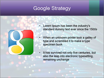 Bunch of optical fibres PowerPoint Template - Slide 10