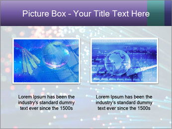 Bunch of optical fibres PowerPoint Template - Slide 18