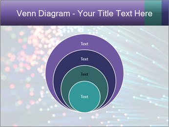 Bunch of optical fibres PowerPoint Template - Slide 34