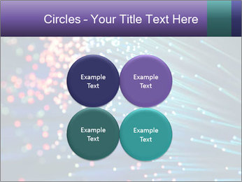 Bunch of optical fibres PowerPoint Template - Slide 38