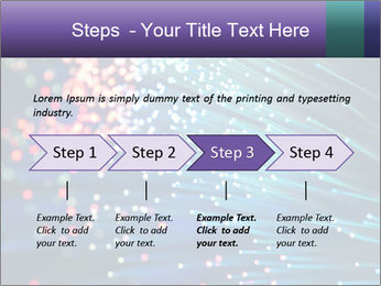 Bunch of optical fibres PowerPoint Templates - Slide 4