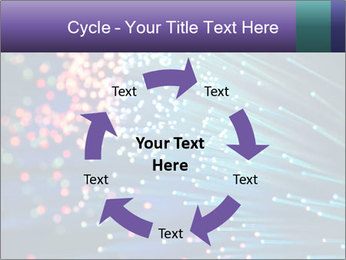 Bunch of optical fibres PowerPoint Templates - Slide 62