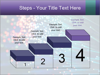 Bunch of optical fibres PowerPoint Template - Slide 64