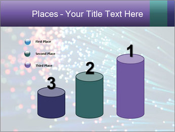 Bunch of optical fibres PowerPoint Template - Slide 65