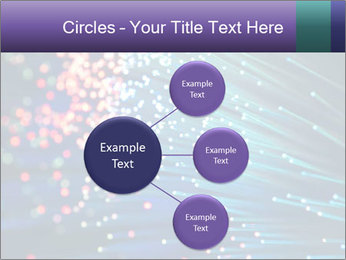 Bunch of optical fibres PowerPoint Template - Slide 79