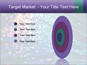 Bunch of optical fibres PowerPoint Template - Slide 84
