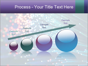 Bunch of optical fibres PowerPoint Template - Slide 87