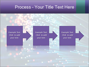 Bunch of optical fibres PowerPoint Template - Slide 88