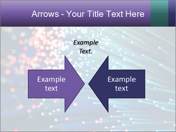 Bunch of optical fibres PowerPoint Templates - Slide 90