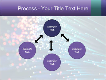 Bunch of optical fibres PowerPoint Template - Slide 91