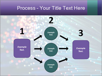 Bunch of optical fibres PowerPoint Template - Slide 92