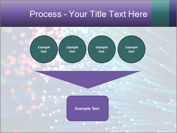Bunch of optical fibres PowerPoint Template - Slide 93