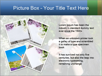 Allergy to pollen PowerPoint Template - Slide 23