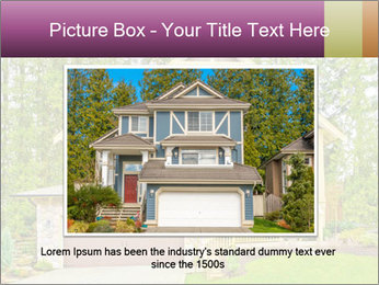 Luxury house PowerPoint Template - Slide 15