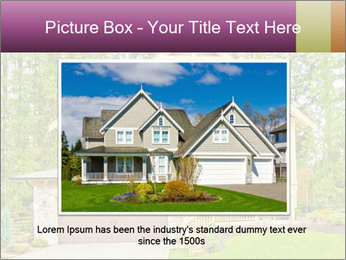Luxury house PowerPoint Template - Slide 16