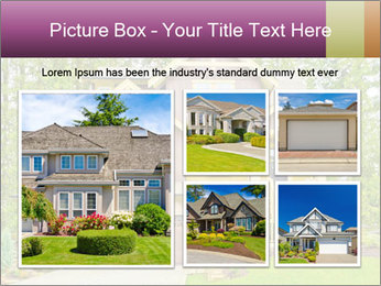 Luxury house PowerPoint Template - Slide 19