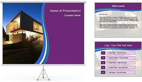 New architecture PowerPoint Template