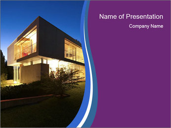 New architecture PowerPoint Template - Slide 1