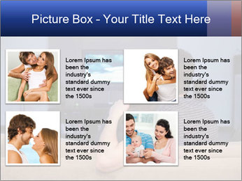 Young couple waching tv PowerPoint Template - Slide 14