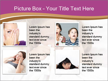 Little girl having childhood PowerPoint Template - Slide 14