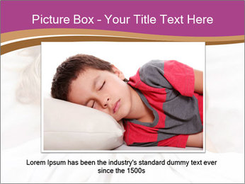 Little girl having childhood PowerPoint Template - Slide 15