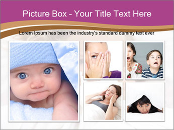 Little girl having childhood PowerPoint Template - Slide 19