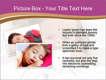 Little girl having childhood PowerPoint Template - Slide 20