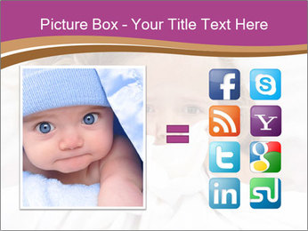 Little girl having childhood PowerPoint Template - Slide 21