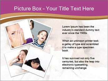 Little girl having childhood PowerPoint Template - Slide 23
