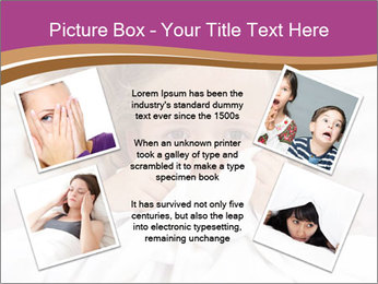 Little girl having childhood PowerPoint Template - Slide 24