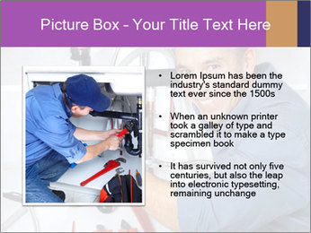 Handsome Plumber PowerPoint Template - Slide 13