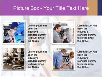 Handsome Plumber PowerPoint Template - Slide 14
