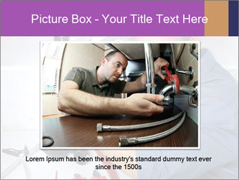 Handsome Plumber PowerPoint Template - Slide 15