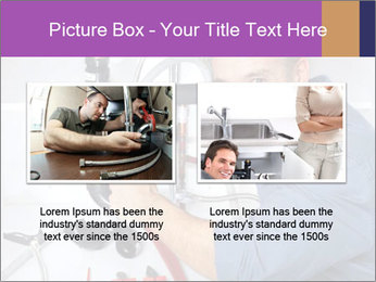 Handsome Plumber PowerPoint Template - Slide 18