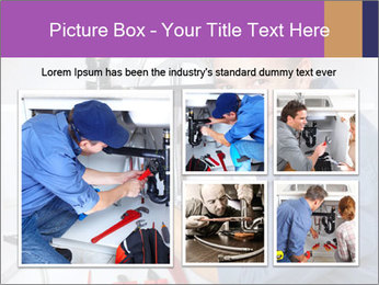 Handsome Plumber PowerPoint Template - Slide 19