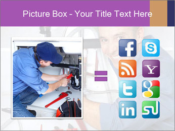 Handsome Plumber PowerPoint Template - Slide 21