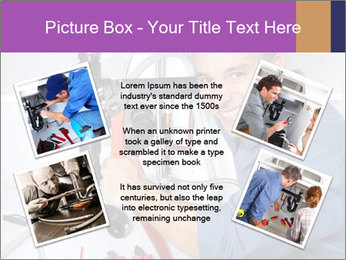 Handsome Plumber PowerPoint Template - Slide 24