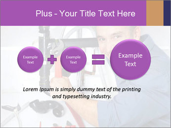 Handsome Plumber PowerPoint Template - Slide 75