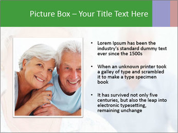 Smiling Retired Couple PowerPoint Template - Slide 13
