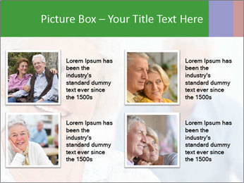 Smiling Retired Couple PowerPoint Template - Slide 14