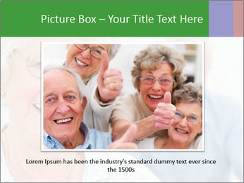 Smiling Retired Couple PowerPoint Template - Slide 16