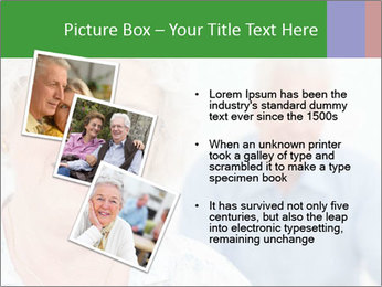 Smiling Retired Couple PowerPoint Template - Slide 17