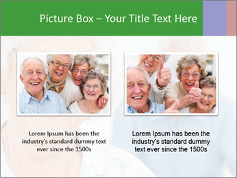 Smiling Retired Couple PowerPoint Template - Slide 18