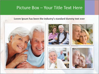 Smiling Retired Couple PowerPoint Template - Slide 19
