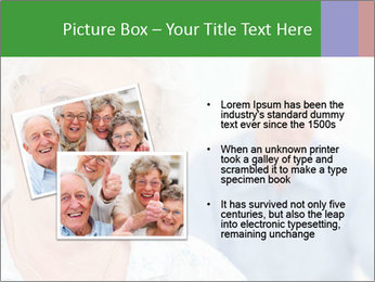 Smiling Retired Couple PowerPoint Template - Slide 20