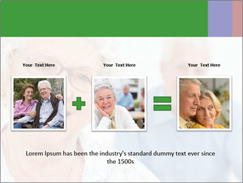 Smiling Retired Couple PowerPoint Template - Slide 22