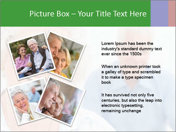 Smiling Retired Couple PowerPoint Template - Slide 23