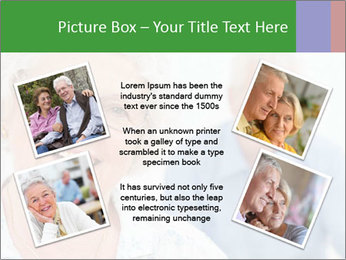 Smiling Retired Couple PowerPoint Template - Slide 24